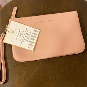 Pink charging clutch / wristlet / wallet